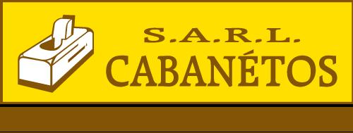 Logo de CABANETOS, menuisier à Saint Hilaire de Riez